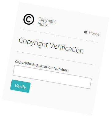 Verify Copyright